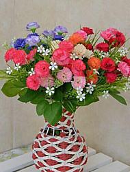 hoge kwaliteit kunstbloemen voor woninginrichting heldere kleur lila bloemen voor vakantie decoraties