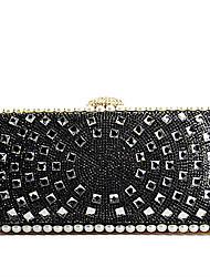Handbag Crystal/ Rhinestone/Metal Evening Handbags With Crystal/ Rhinestone/Metal