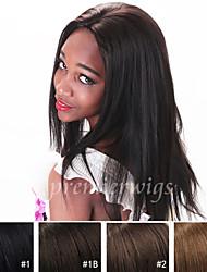 7a qualité 100% yaki droites perruques de cheveux blonds yaki 100% perruques de dentelle de cheveux humains avant vierges brésiliens pour