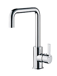 CRW HB56005-7 Chrome Finished Hot and Cold Water Basin Faucet Mixer