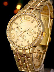 GoGoey High-grade Gold watchband Petty Elegant Ladies Watch