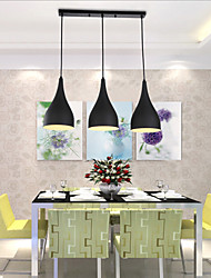 Best Selling Product 3 Lights Black Lamp Shades Latest Cheap Decor Modern Pendant Light for Dining Room