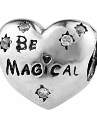 Be Magical silver beads for bracelet and necklace