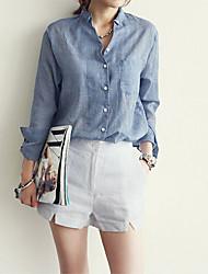 Women's Korea New Women's Cotton Shirts