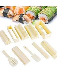Janpan Sushi Maker Shaper Rice Model Making Kit Kitchen For Meal Picnic