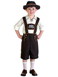 German Children`s Oktoberfest Cotton & Spandex Costumes
