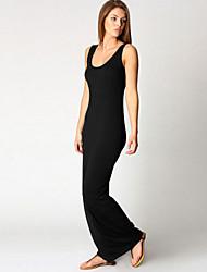 Women's Sexy Beach Casual Party Strap Slim Long Maxi Dress