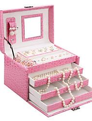 Glam Classic Jewelry Beads DIY Display Box Case Watch Organizer Armoire ZG016NEW