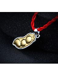 тысячи штрафа золотой кулон серебро золотой кулон обжаренные зеленые бобы мира и счастья