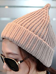 Unisex Cute Couples Knitted Cap Pointed Cap