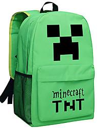 Minecraft backpack Enderman day pack New School bag Nylon rucksack Game daypack Green 049 TNT