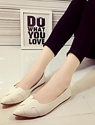 Women's Shoes Flat Heel Pointed Toe Flats Casual Pink/White/Gray