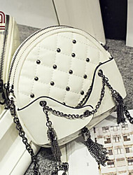 Handcee® Hot Selling Quilted Rivet Woman PU Crossbody Bag with Chain
