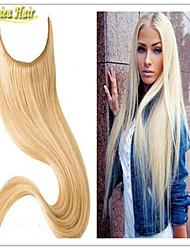 1pc flip pelo liso precio barato europeo marrón oscuro extensiones de cabello 50g- 100g / pc natural en extensiones de cabello