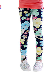 Waboats spring Kids Baby Girl Child Milk Silk Leggings& Nine pants