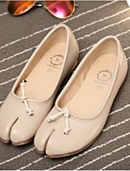 Women's Shoes  Flat Heel Closed Toe Flats Casual Black/Beige
