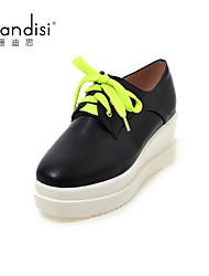 Women's Shoes Wedge Heel Wedges/Heels Pumps/Heels Casual Black/White