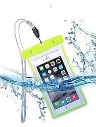 bolsa beittal universales impermeable caso de luz fluorescente para el teléfono celular hasta 6.0 tarjeta ang diagonal (color clasificado)
