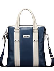 moda x.bnj alta calidad de cuero genuino de grano-cuero completo para los hombres los hombres únicos bolsa de mensajero del bolso del
