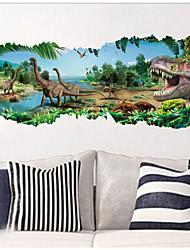zooyoo® 1458 Парк Юрского Периода кино наклейки динозавры стены