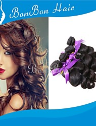 cabelo humano peruano tecer 4pcs onda soltas