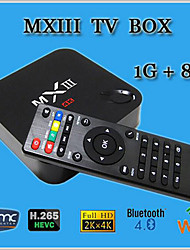 nuovo contenitore di android 4.4 TV mx3 Amlogic S812 quad core 1gb / 8gb wifi hdmi 4k xbmc lettore multimediale Smart TV