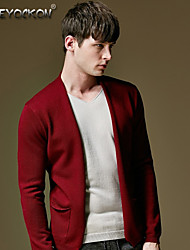 Men's casual sweater,Autumn Korean cultivating thin sweater,Fake two sweaters 013