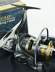 4000 Size 5.2:1 Full Metal Reel 12+1 Ball Bearings All Metal Sea Fishing Freshwater Fishing Spinning Fishing Reel