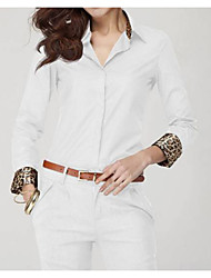 Vancs Women's Chiffon Long Sleeve Floral Shirt Tops Blouse T-shirt