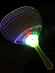 The Colorful Flashing LED Hand Fan(Colors Random)