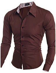 Mens Designer Casual  Slim Shirt