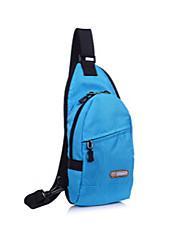 oxford saco de pano messenger ombro unisex 's - roxo / azul / preto
