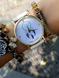 Vintage Women'S Watch Crystal Dreamcatcher Watch Pu Belt Students Watch Jewelry Accessories Cool Watches Unique Watches