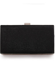 Women 's Polyester Fold over Clutch Clutch/Evening Bag - Gold/Silver/Black