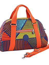 Exterior - Bolso de Viaje - Poliéster - Azul / Naranja - Mujer
