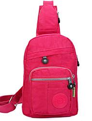 saco de lona baguette ombro das mulheres - rosa / verde / vermelho / preto