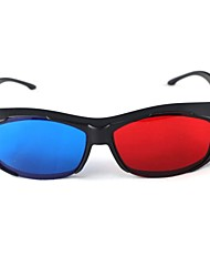 3D-Stereobrille Brille rot-blau 3D-Brille für TV-Computer