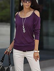 Women's  Casual Sexy Cute  Blouse  ( cotton)
