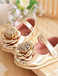 Baby Shoes Casual  Flats Pink/Gold
