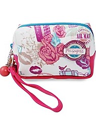 Summer Style Miss Gorgeous Love Travel Cosmetic Bag Beauty Cosmetic Women Bag Fashion Makeup Pouch Handbags Design