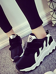 Canvas Lady  Women's Shoes Black/Grey Low Heel 0-3cm Fashion Sneakers