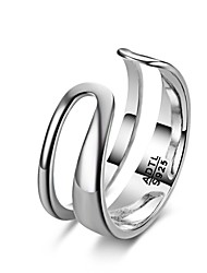 Fine Jewelry Charms Fashion Exaggeration Europe & American Quality Goods 925 Sterling Silver Opening Rings