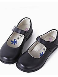 Girls' Shoes Athletic Round Toe  Flats Black