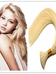 "3Pcs/Lot Wholesale Indian Hair Bulk Extensions,100% Virgin Human HAIR Hair Bulk 14""-32"" 100G/Pc #613"