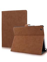 schleifen arenaceous PU-Schutzhülle mit Ständer für iPad 2/3/4