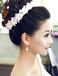 Bride's Flower Crystal Rhinestone Forehead Wedding Headdress Headbands 1 PC