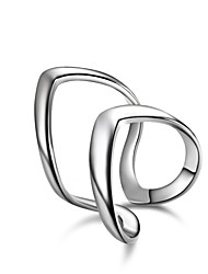 Summer Jewelry New Exaggerated Fashion Charms 925 Sterling Silver Jewelry Opening rings For Women ,High Quality