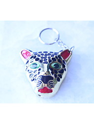The New Strange Leopard Head Pendant Lighter Inflatable Metal Lighters