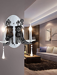 Wall Sconces Crystal Modern/Contemporary Metal