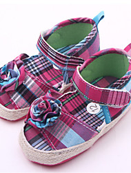 Baby Shoes Casual Fabric Sandals Pink/Purple